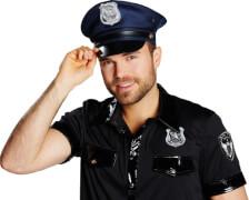 Kostüm Police Cap Gr.57