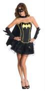 Kostüm Batgirl Corset DressAdult Gr.S, Karneval