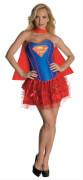 Kostüm Supergirl Corset Adult Gr.S, Karneval