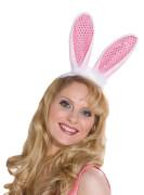 Bunny Haarreif mit Pailletten