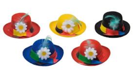 Miniaturhüte sortiert