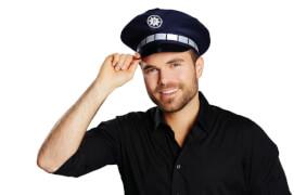 Polizeimütze Kinder und Erwachsene 55