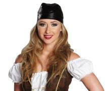Piratentuch.Lederoptik