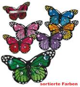 FRIES - Haarclip Schmetterling, sort. Farben