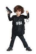 Kostüm FBI Weste Gr.140