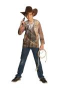 Kostüm Cowboy Shirt Gr.128