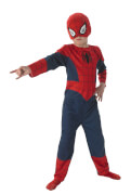 Kostüm Spiderman 3tlg Flat Child Gr.M