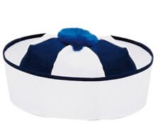 Matrosenkäppi blau-weiss 58