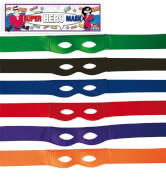 Super Hero Maske, farblich sortiert