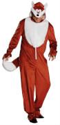 Kostüm Fuchs Overall Gr. XL, Karneval