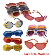 FRIES - Brille Glitzer, sort. Modelle