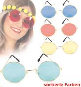 Brille Hippie, gross, farblich sortiert