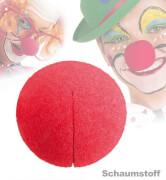 FRIES - Clownnase Schaumstoff rot