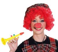 Clown-Nase Schaumstoff orgi. STD, Kostüm Zubehör