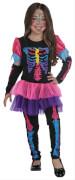 Kostüm Neonskelett orgi. 128