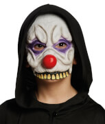 Halbmaske Horror-Clown