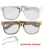 FRIES - Partybrille, sort. Farben