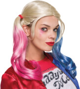 Harley Quinn Wig Suicide Squad - Adult