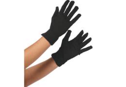 Handschuhe schwarz, Kostüm Zubehör