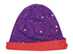 Mütze Kreisel lila-orange  (4)