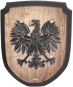 Schild braun Adler