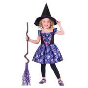 Kinderkostüm Mythische Hexe Recyc Alter 3-4 Jahre
