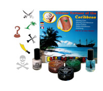 Glitzer Tattoo-Set- of the Caribbean (XL)
