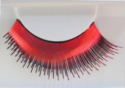 Wimpern, Rot metallic