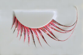 Wimpern, Cabaret Pink