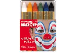 6 Schminkstifte in Schachtel bunt