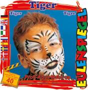 Eulenspiegel 204047 Motiv-Schminkset Tiger