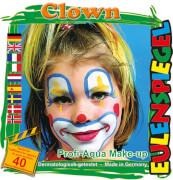 Eulenspiegel 204146 Motiv-Schminkset Clown