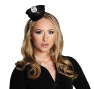 Police Cap.Mini.Haarreif, Kostüm Zubehör