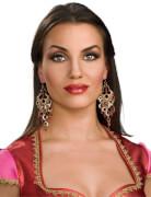 Rubies Bollywood Ohrringe
