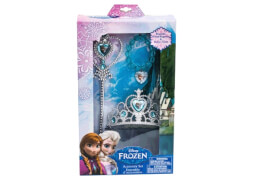 Disney Frozen - Die Eiskönigin Prinzessinset: Zepter, Krone, Armband