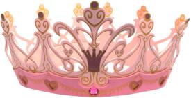 Liontouch Königin Rosa Krone