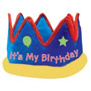 Krone It's My Birthday Gewebe 13,9 cm