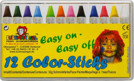 Eulenspiegel 626122 Color-Sticks - 12 Stück