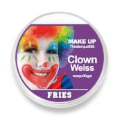 FRIES - MAKE-UP Klassik, Clown-Weiß, 15 g