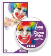 Theaterschminke AQUA Klassik, Clown-Weiss, 15 g SB