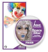 Theaterschminke AQUA Klassik, Space-Silber, 15 g SB