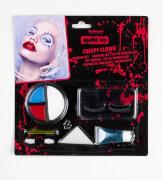 Halloween-Make-Up Gruseliger Clown