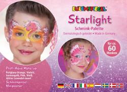 Eulenspiegel 206300 Starlight - Schminkpalette mit Anleitung