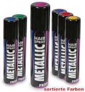 Hairspray Metallic farblich sortiert, 100 ml