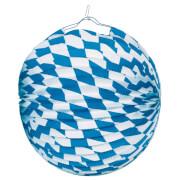Lampion Bayern schwer entflammbar 25 cm #