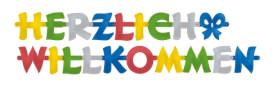 Partykette Herzlich Willkommen 200 x 11 cm