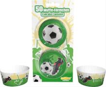 Fußball Muffinförmchen 50 Stück