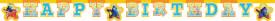 Disney Findet Dorie Happy Birthday Buchstaben Banner / Girlande