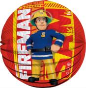 Feuerwehrmann Sam Papier-Lampion + elektrischer Laternenstab