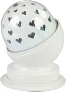 X4-Life rotierendes LED Stimmungs- und Nachtlicht Herz rot